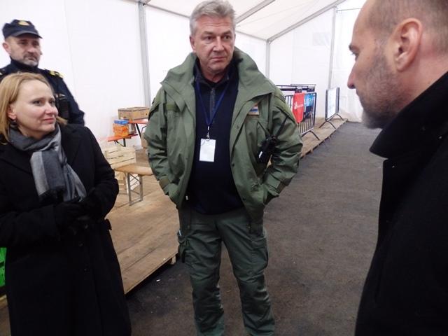 Ombudwoman Vidović and Ombudsman of Serbia Visit Refugee Centers in Šid and Slavonski Brod