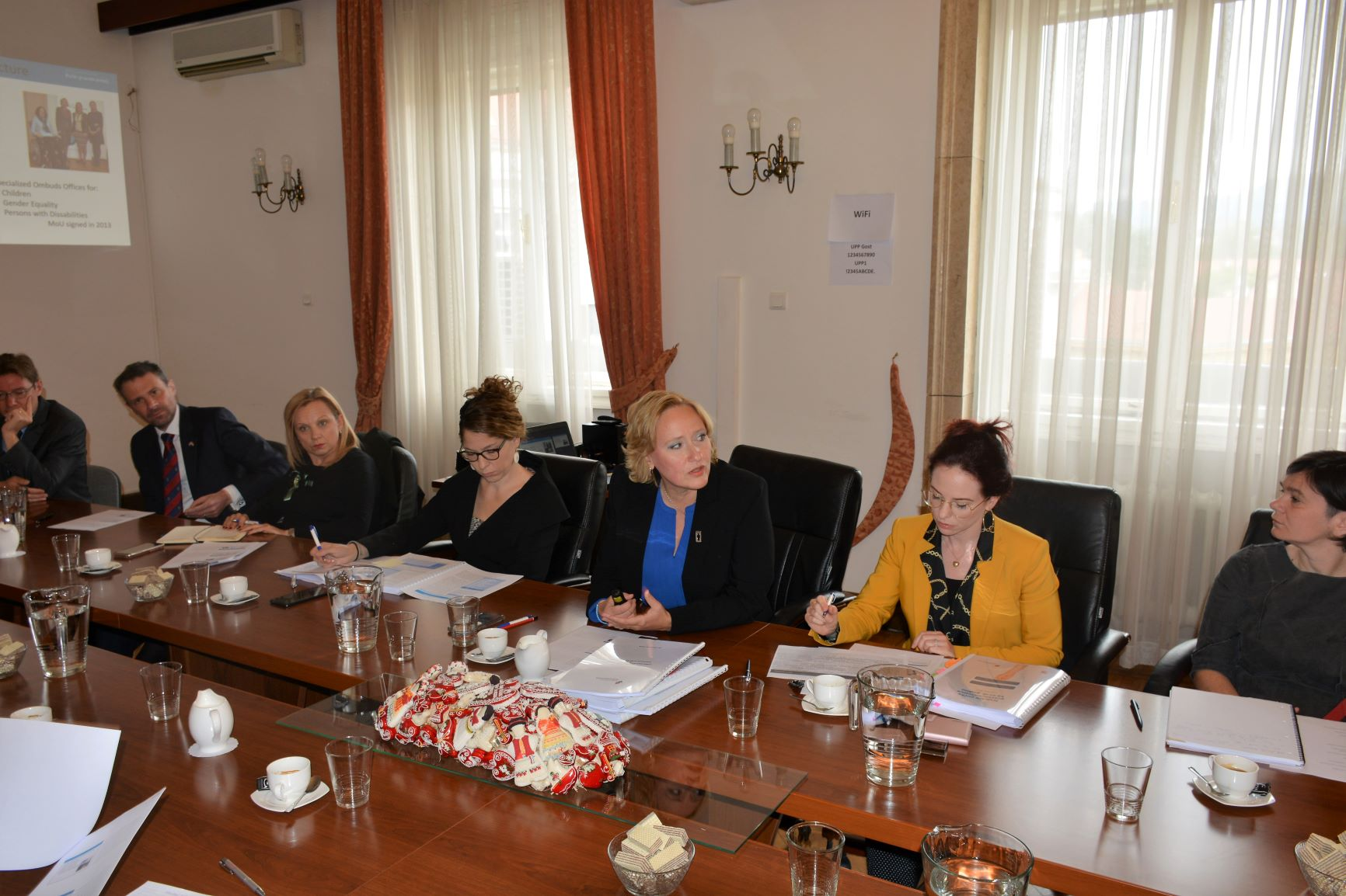 2018 Ombudswoman's Annual Report Presented to Diplomats