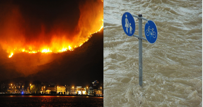 Human rights in emergency situations – activities during fires and floods